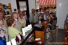 Seniorenortsgruppe Mühlhausen zu Besuch in Greiz