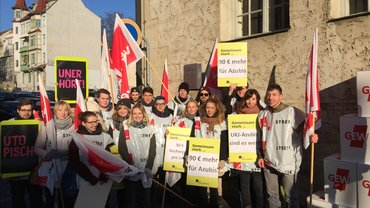 Warnstreik TdL 2017 in Jena