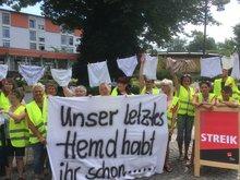 Fortsetzung der Streiks bei Celenus an der Salza Bad Langensalza